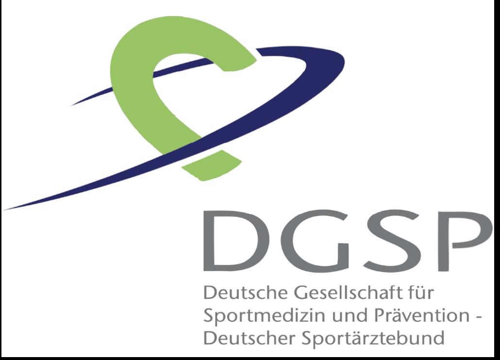 DGSP - Deutsche Gesellschaft für Sportmedizin und Prävention - Deutscher Sportärztebund