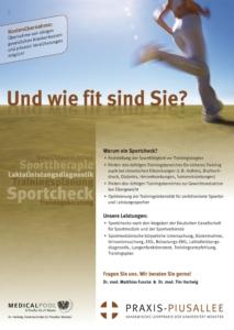 Praxis Piusallee Dr. Funcke Dr. Hartwig Sportchecks