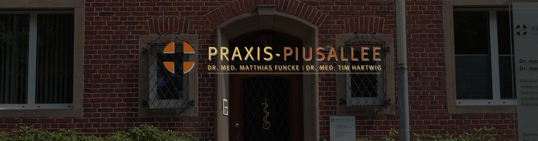 Praxis Piusallee Dr. Funcke Dr. Hartwig Innere und Allgemeinmedizin, Sportmedizin